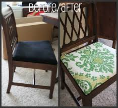 How To Make Seat Cushions For Dining Room Chairs Diy Seat Cushions For Dining Room Chairs Chair Pertaining To