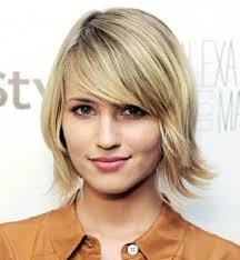 medium short haircuts thin thin hair and round face best short