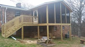 a screened in porch by the deck builder in alcoa tn u2013 the deck builder