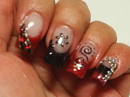 nail arts black nail art designs