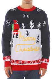 yellow snow christmas sweater popcult wear