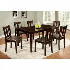 7 pc dining room set transitional 7 pc dining table set modernmist limited