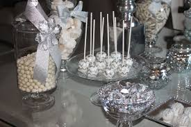 silver party favors wedding anniversary party ideas