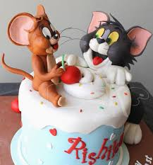 tom and jerry cake topper tom and jerry cake ideas