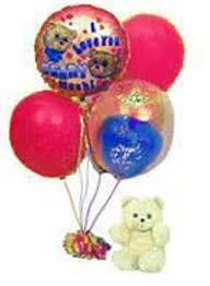 balloon delivery pasadena ca balloon bouquet with teddy included flowers los angeles