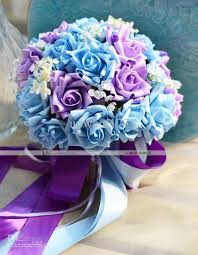 purple and blue wedding blue and purple wedding