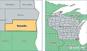 kenosha map kenosha county wisconsin map of kenosha county wi where is