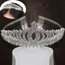 silver headband aliexpress buy luxury crown design silver