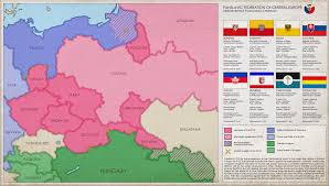 Turkestan Map Panslavic Federation Of Central Europe Spf Map By Imdeadpanda On