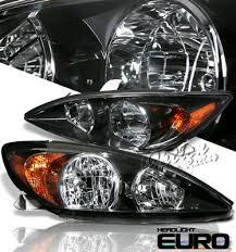 2004 toyota camry lights toyota camry 2002 2004 black euro headlights a101bfke102
