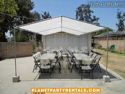 table rental prices party tent 12ft x 20ft prices packages