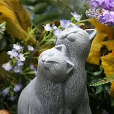 30 best cat statues images on cats cat statue and