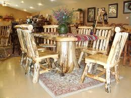 rustic dining room decor log furniture dining table and chairs log dining table and chairs
