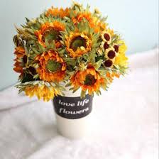 Fake Sunflowers Halloween Artificial Flowers Bulk Online Halloween Artificial