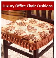 Skirted Dining Room Chairs 43x41cm Luxury Office Chair Cushions With Ties Skirt U0027s Fabric