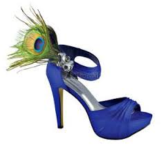 Peacock High Heels All Peacock Shoes All The Time Offbeat Bride