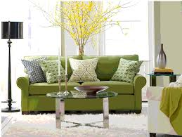 Green Livingroom Interior Luxury Living Room Decorations With Dark Brown Single