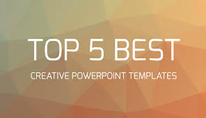Top 5 Best Creative Powerpoint Templates Youtube Tempalte Ppt