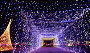 video nearly a million dancing lights on menu of drive thru