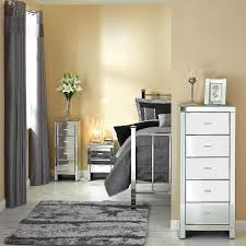Mirrored Bed Bedroom Wondrous Mirrored Bedroom Furniture With Elegant Interior