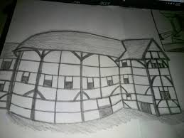 globe theatre sketch by atk344 on deviantart