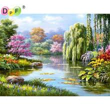 Willow Tree Home Decor Popular Willow Tree Painting Buy Cheap Willow Tree Painting Lots