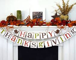 thanksgiving decorations banner happy thanksgiving sign