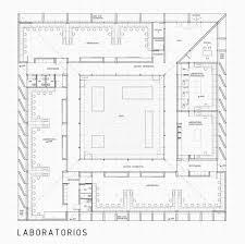 arch l a b square array laboratory building u2013 ramón carrillo in