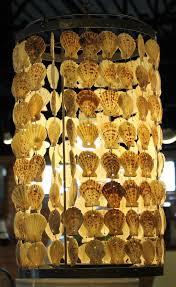 Seashell Light Fixtures Seashell Swag L Pendant Light Hanging Sea Shells Lshade