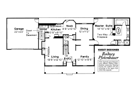 Colonial House Floor Plans by Colonial House Plan Kinderhook 42 003 1st Floor Plan Colonial