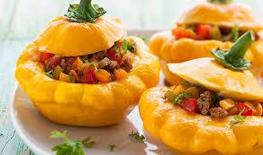 cuisiner du patisson pâtissons farcis aux légumes une recette végétarienne