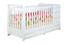 Convertible Crib And Changer Combo Afg I 2 In 1 Crib And Changer Combo