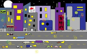 microsoft paint city lights cool art pinterest microsoft