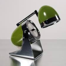 midcentury mod bullet lamp telescoping desk lamp mid century