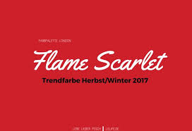 28 fall 2017 pantone colors pantone farbpalette flamescarlet hashtag on twitter