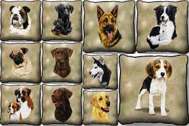 Dog Home Decor by Home Decor U0026 Gifts Pillows Dog Breed Portraits Page 1