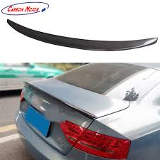 audi ebay carbon fiber rear trunk spoiler boot lid wing for audi a5 coupe
