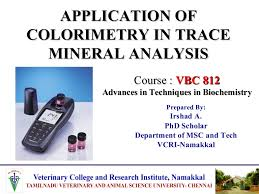 Applications Of Colorimetry In Analytical Chemistry Applicationofcolorimetryintracemineralanalysis 141125114705 Conversion Gate01 Thumbnail 4 Jpg Cb 1416916173