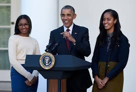 thanksgiving white house obama pardons turkeys u0027honest u0027 and u0027ab u0027 kpic