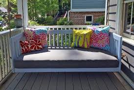 porch bed home hanging porch beds u0026 swinging porch beds