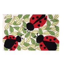 Ladybug Area Rug August Grove Guffey Ladybugs Parfait Area Rug Reviews Wayfair