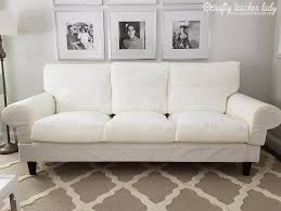 Slipcovers For Loveseats With Two Cushions Furniture Pottery Barn Slipcovered Sofa Pottery Barn Sofa