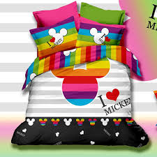 Mickey Mouse King Size Duvet Cover Mickey Mouse Bed Set Finest Bedding Set Full Queen Size Cotton