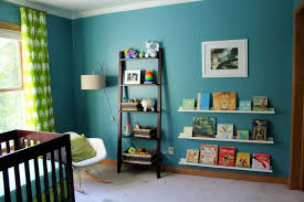 peinture chambre garcon chambre bébé bleu canard déco mobilier et accessoires