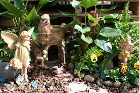 outdoor fairy garden invite you to stop by your favorite centers