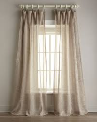Tie Top Curtains White Sheer Curtain Tie Top Incredible Best Home Fashion Voile Curtains