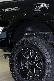 toyota tacoma road wheels gear wheels on lifted toyota tundra trd truck aftermarket