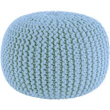 Knit Pouf Ottoman Pattern Knitted Pouf In Solar Burst By Knit Ottoman Pattern For Your