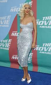fashion flashback christina aguilera then u0026 now celebrity style