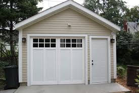 Detached Garage Pictures by Affordable Detached Garage Builder Single Car Garages